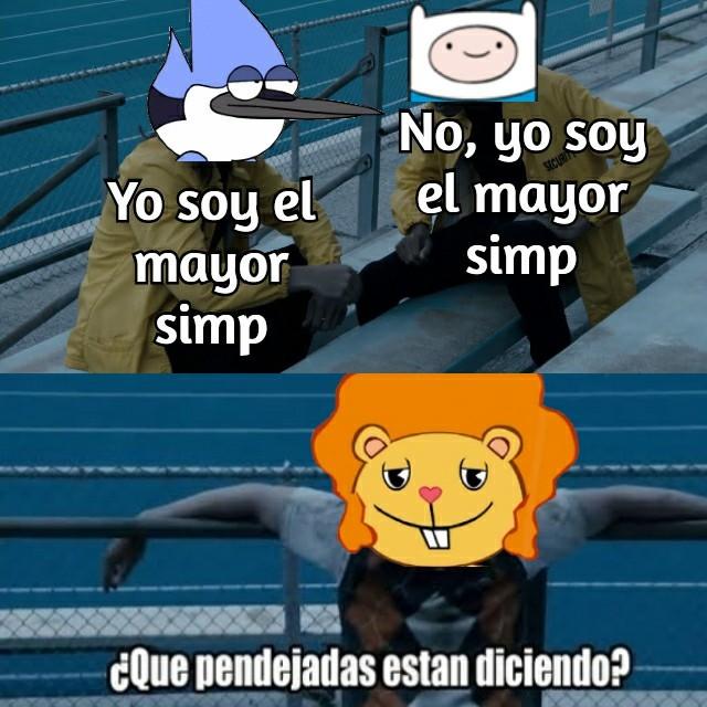 Poder Simp Máximo - meme