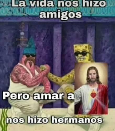via cristo rey - meme