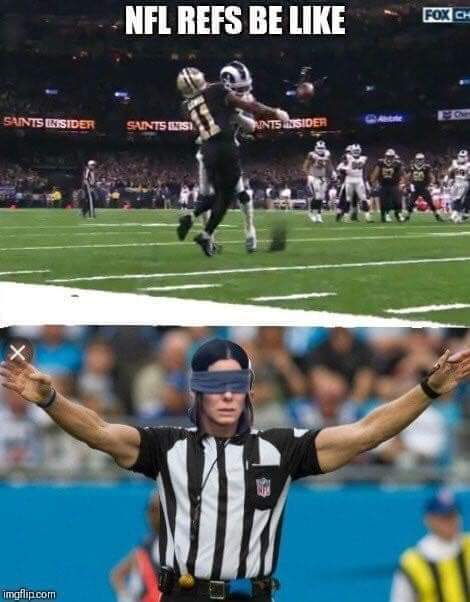 Saints got robbed... - meme