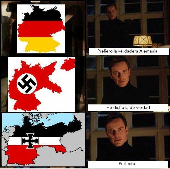 El segundo reich es el mejor - meme