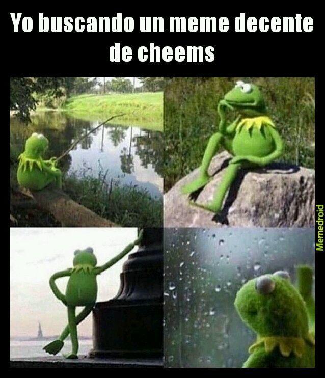 No cheems - meme