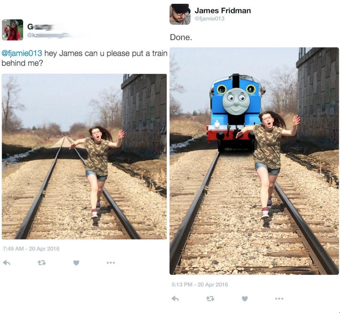 homicidal Thomas - meme