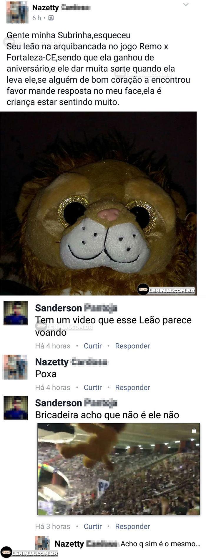 Fly Leão - meme