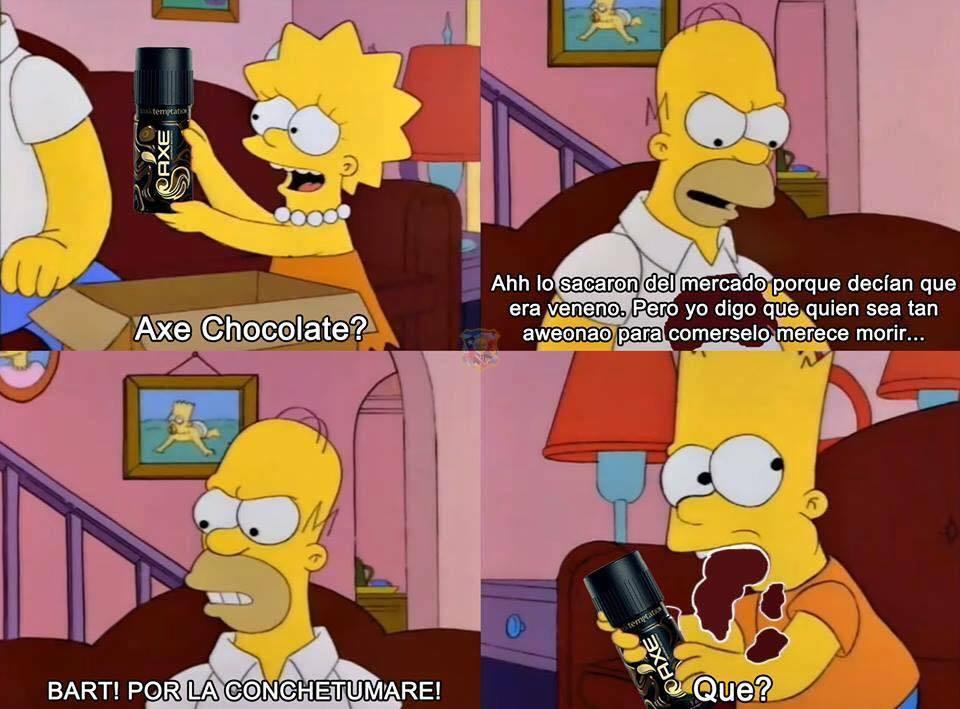 Axe Chocolate - meme
