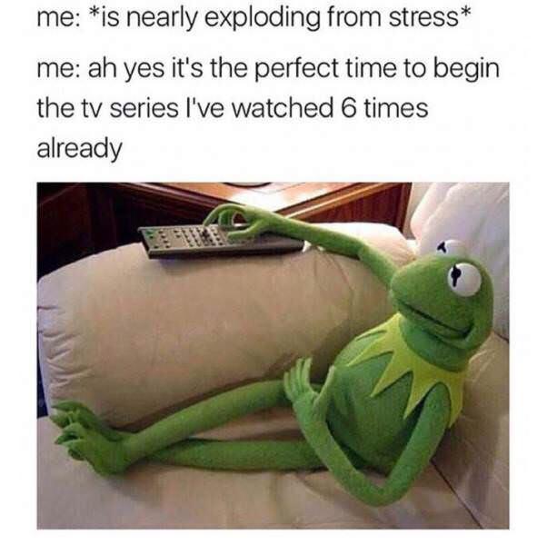 Time for TV - meme