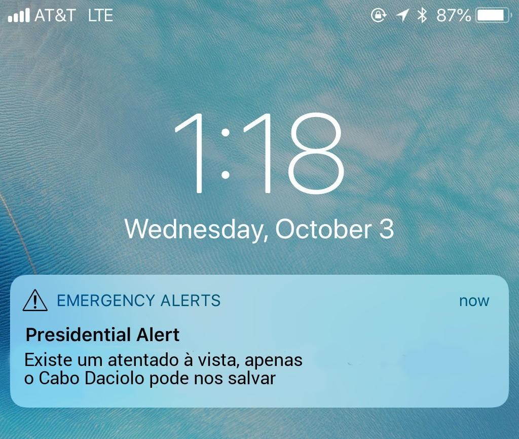 Cabo Daciolo para presidente - meme