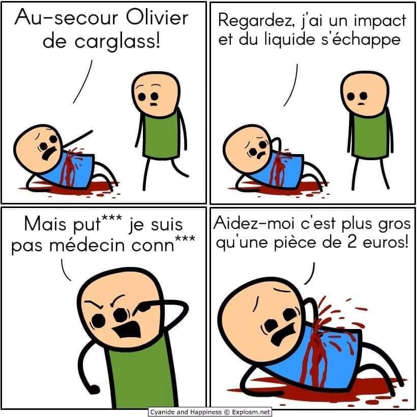 Olivier de chez Carglass - meme