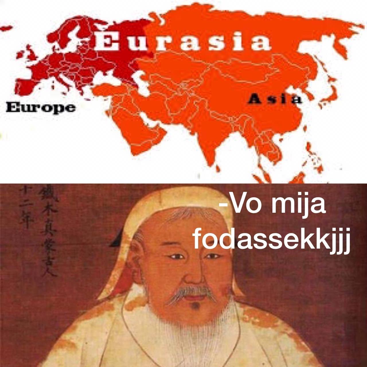o mongol - meme
