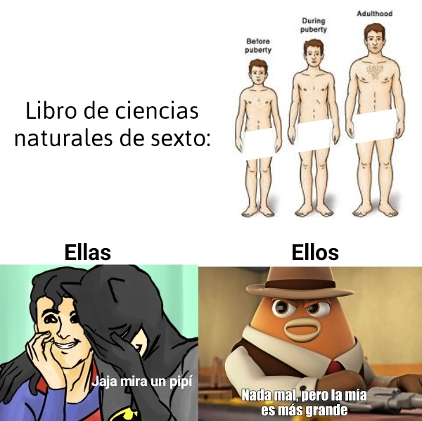 Mi cuerpo - meme