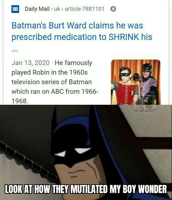 Bat-..... I mean Robdick - meme