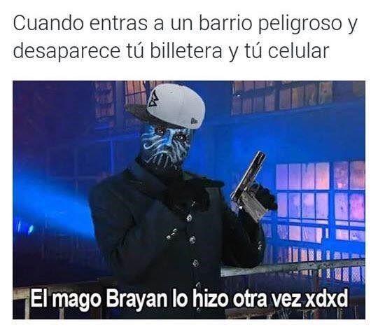 El mago Brayan - meme