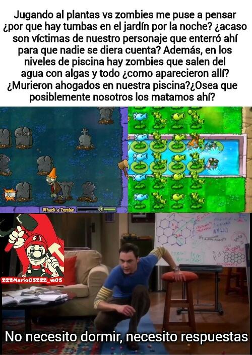 2 memes seguidos de PvZ