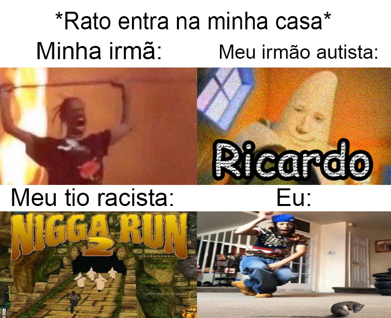 NIGGA RUN 2 - meme