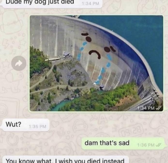 Sad dam - meme