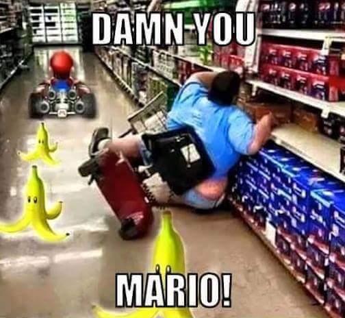 Mario.... - meme
