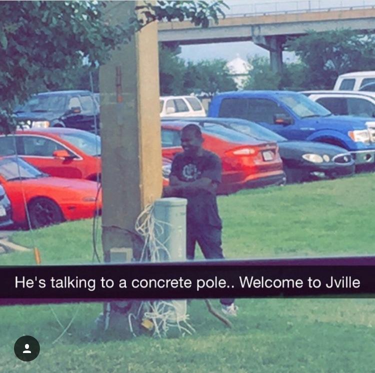 People in Jacksonville... - meme