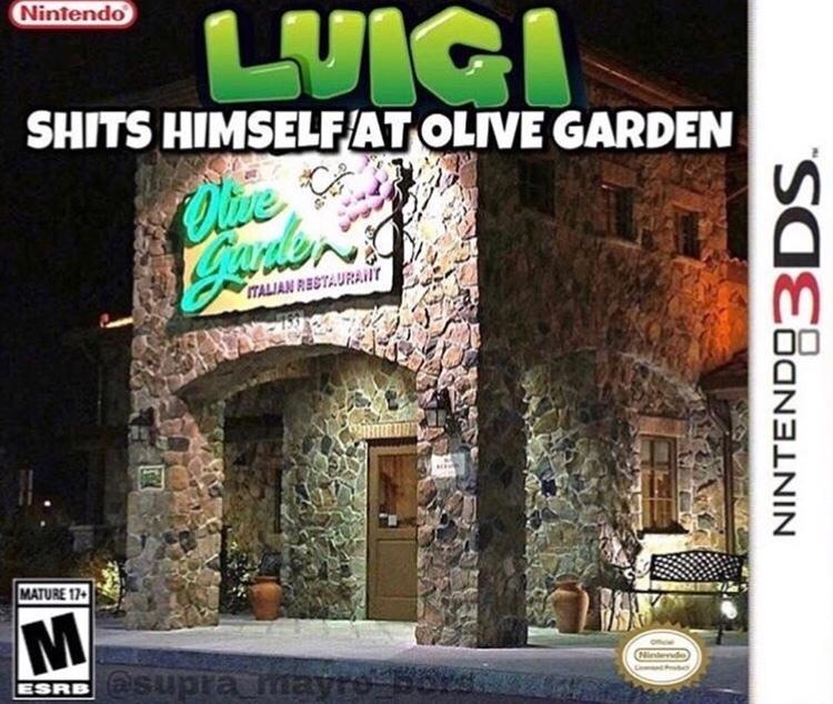 gay Luigi? - meme