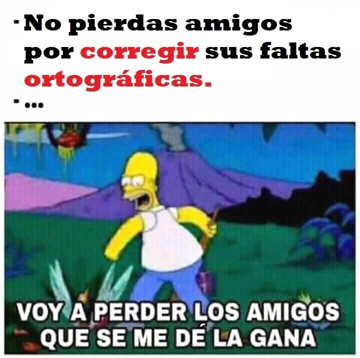 ORTOgrafía - meme