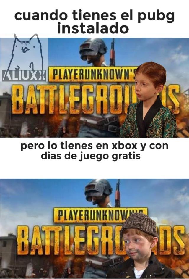 está bien kk en el Xbox >:( - meme