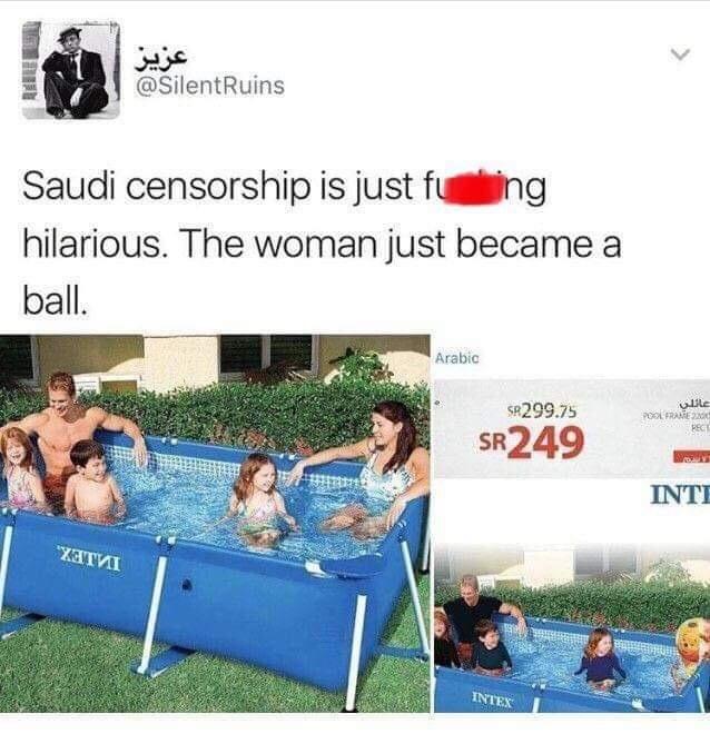 censored fucking for irony - meme