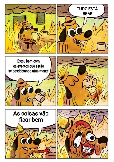 Thi is fine - meme