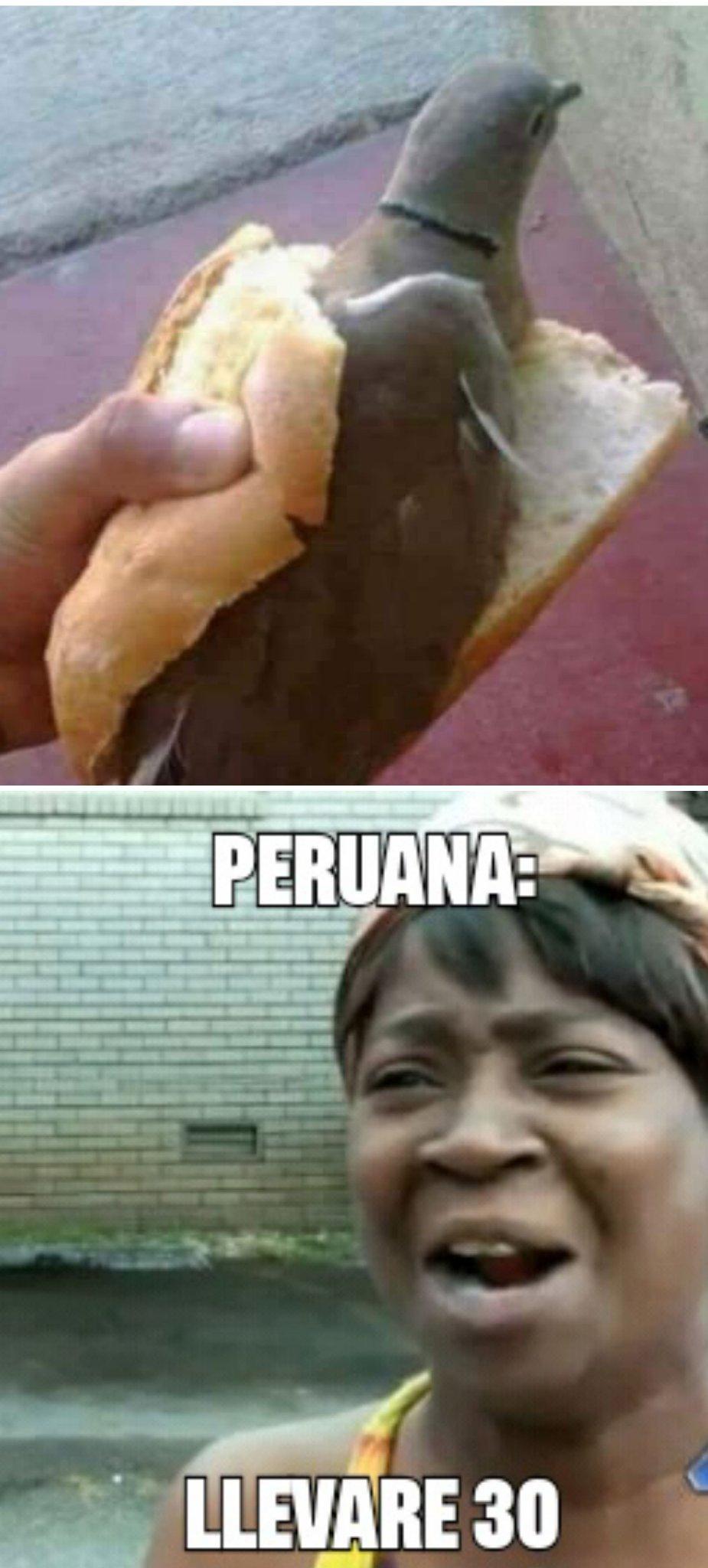 Gastronomia peruana - meme