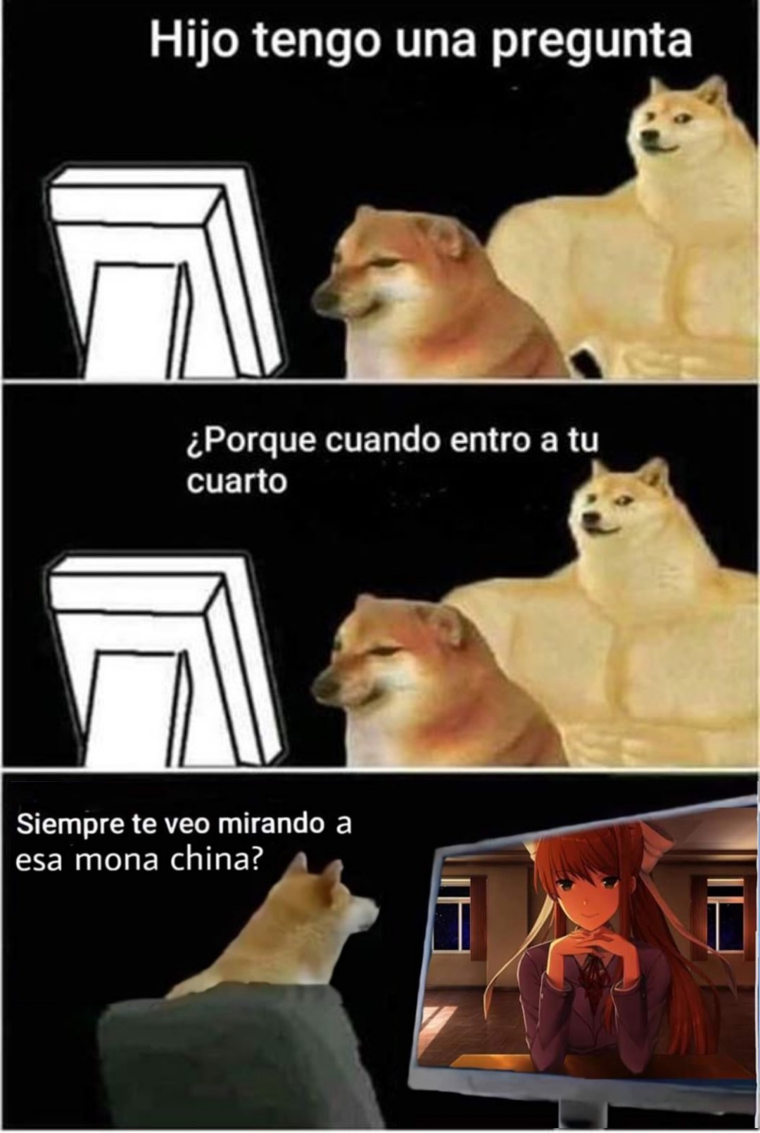 Just Monika - meme