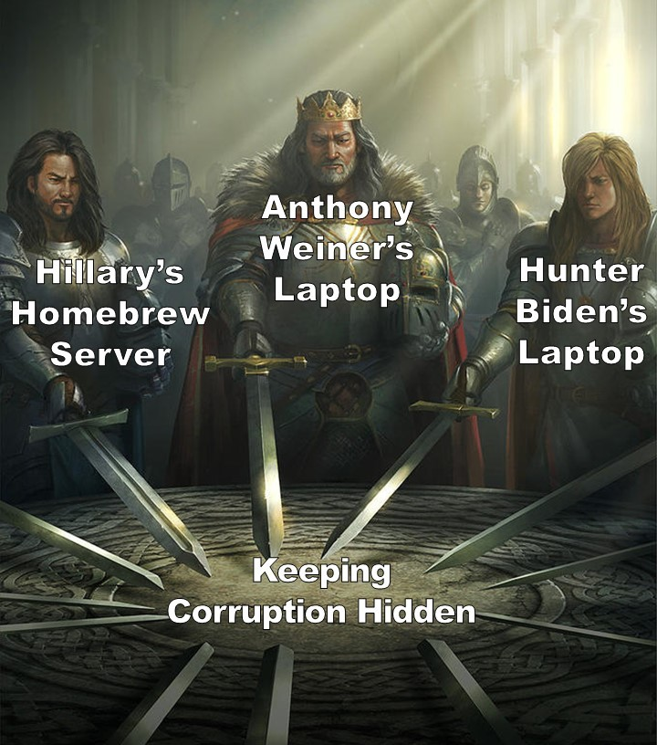 Maybe the Problem is Actually Systemic Corruption? - meme