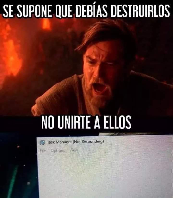 Jodido Windows - meme