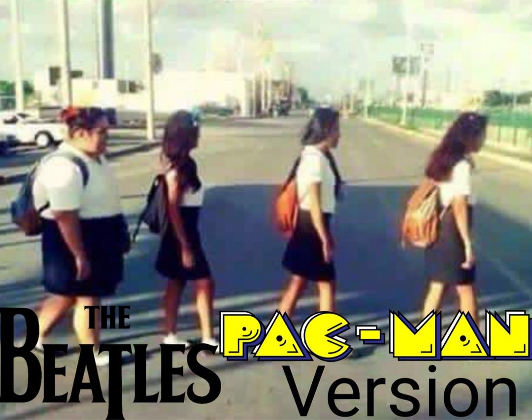 The Beatles x Pacman - meme