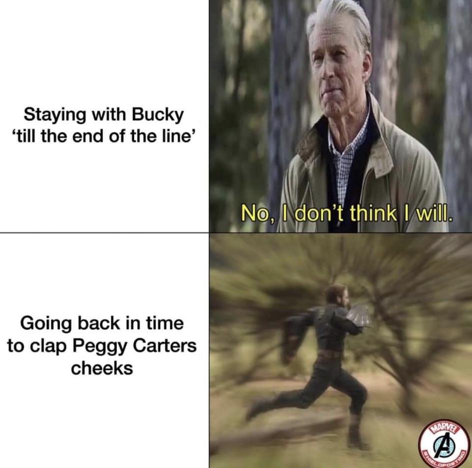 Captain America - meme