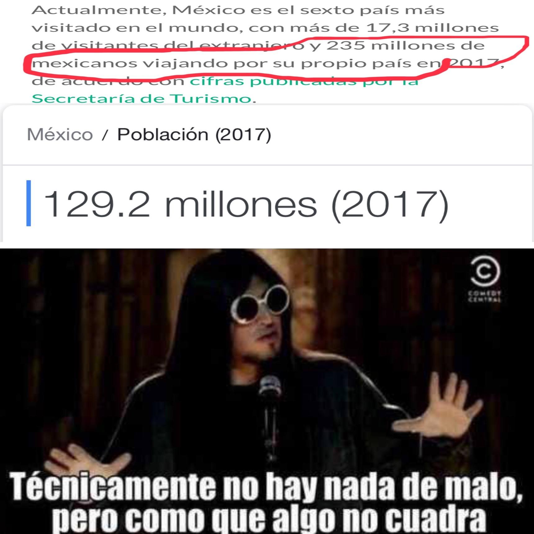 es q algunos mexicanos valemos el doble - meme