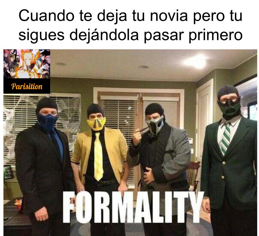 Formal - meme