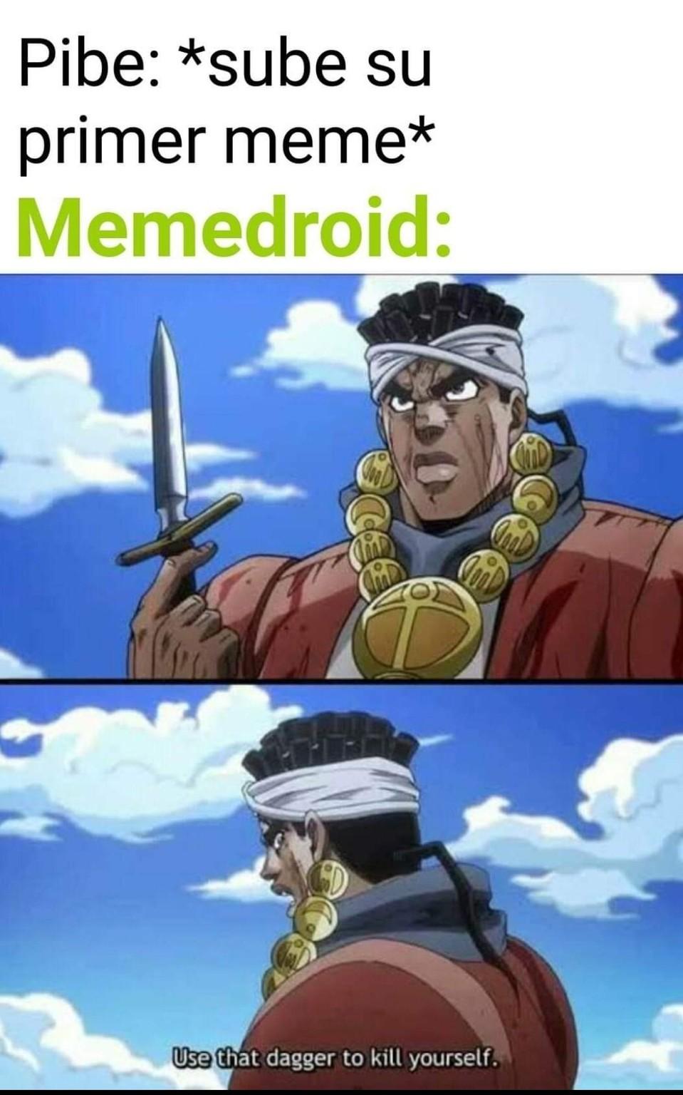 Ustedes le saben al memedroid?