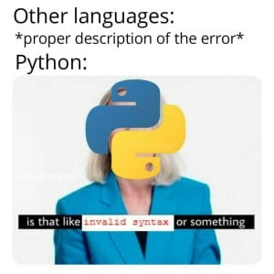 Momo informático - meme