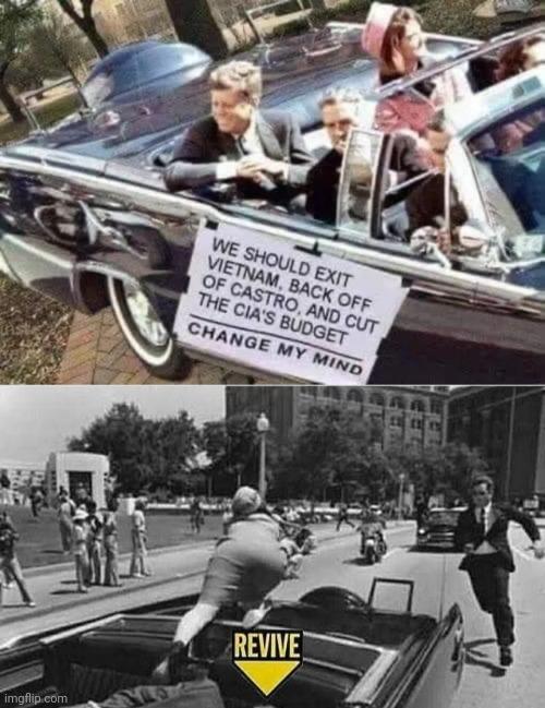 JFK news? - meme