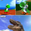The evolution of Yoshi