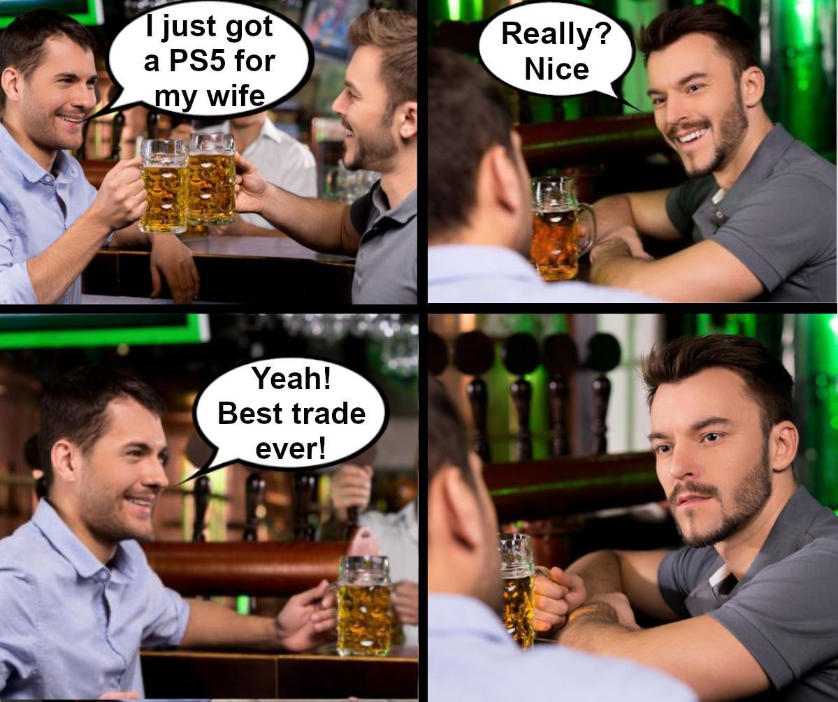 Trade - meme