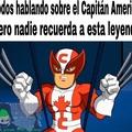 Todos se olvidaron del Capitán Canada