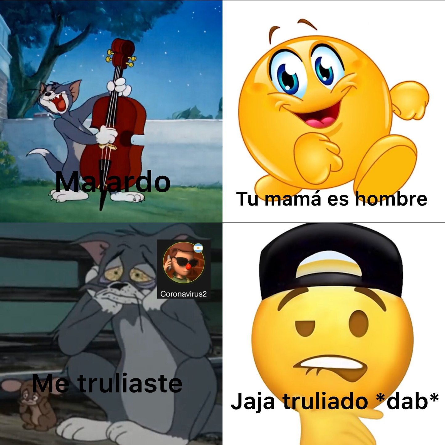 si mom soy chitposter - meme