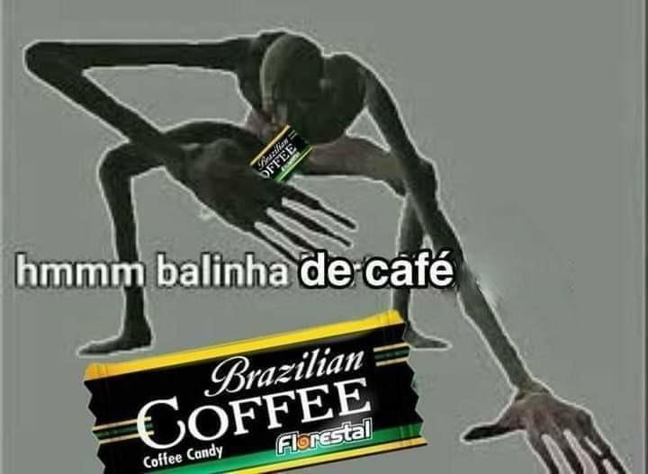 Balinha de café - meme