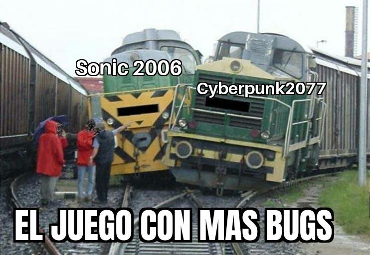 Cual tiene mas bugs - meme