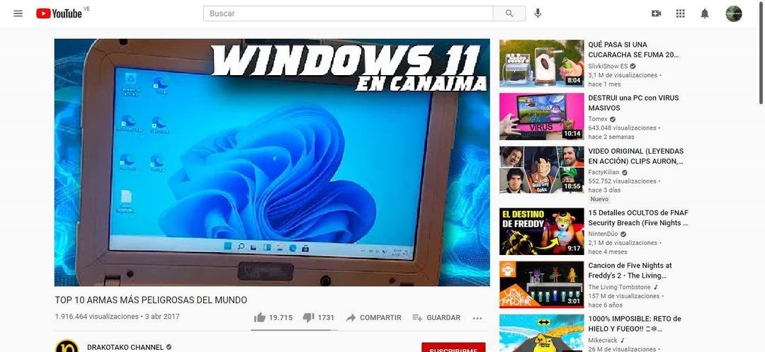 Contexto: La Canaima es una computadora del gobierno. - meme