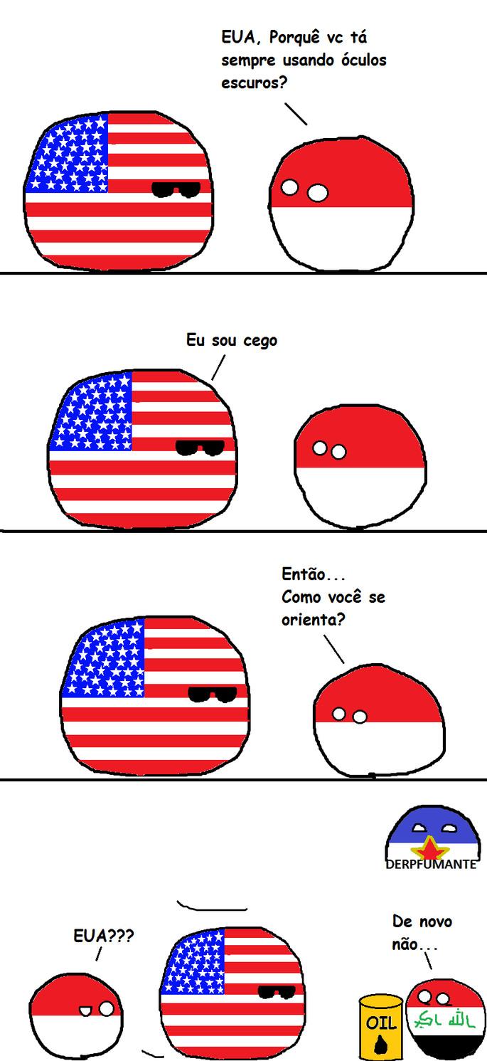EUA e petróleo - meme
