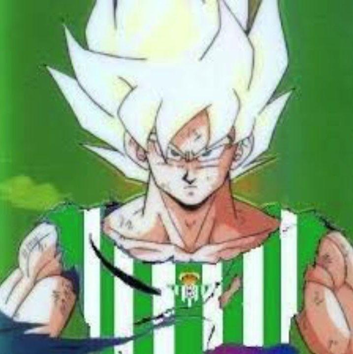 Goku es del Betis - meme