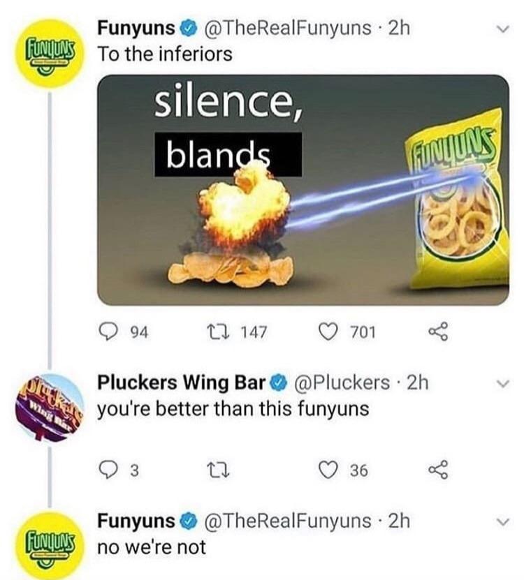 Silence blands - meme