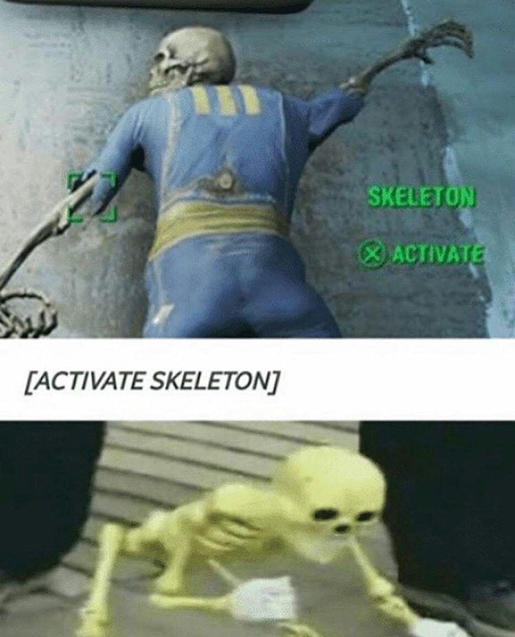 Spooky month - meme