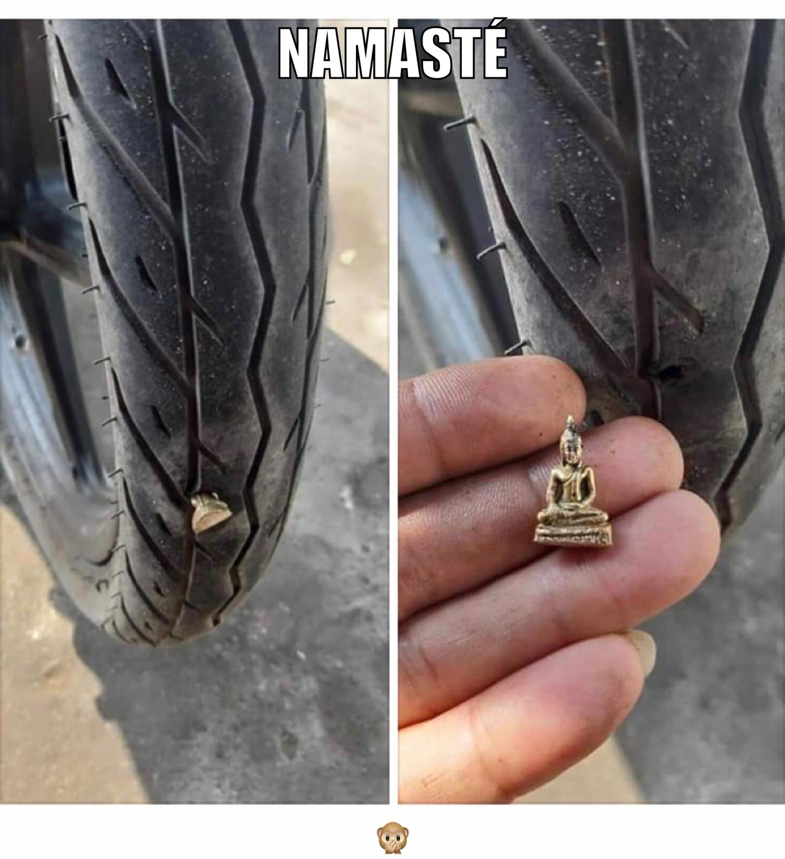 Namasté curry lovers - meme