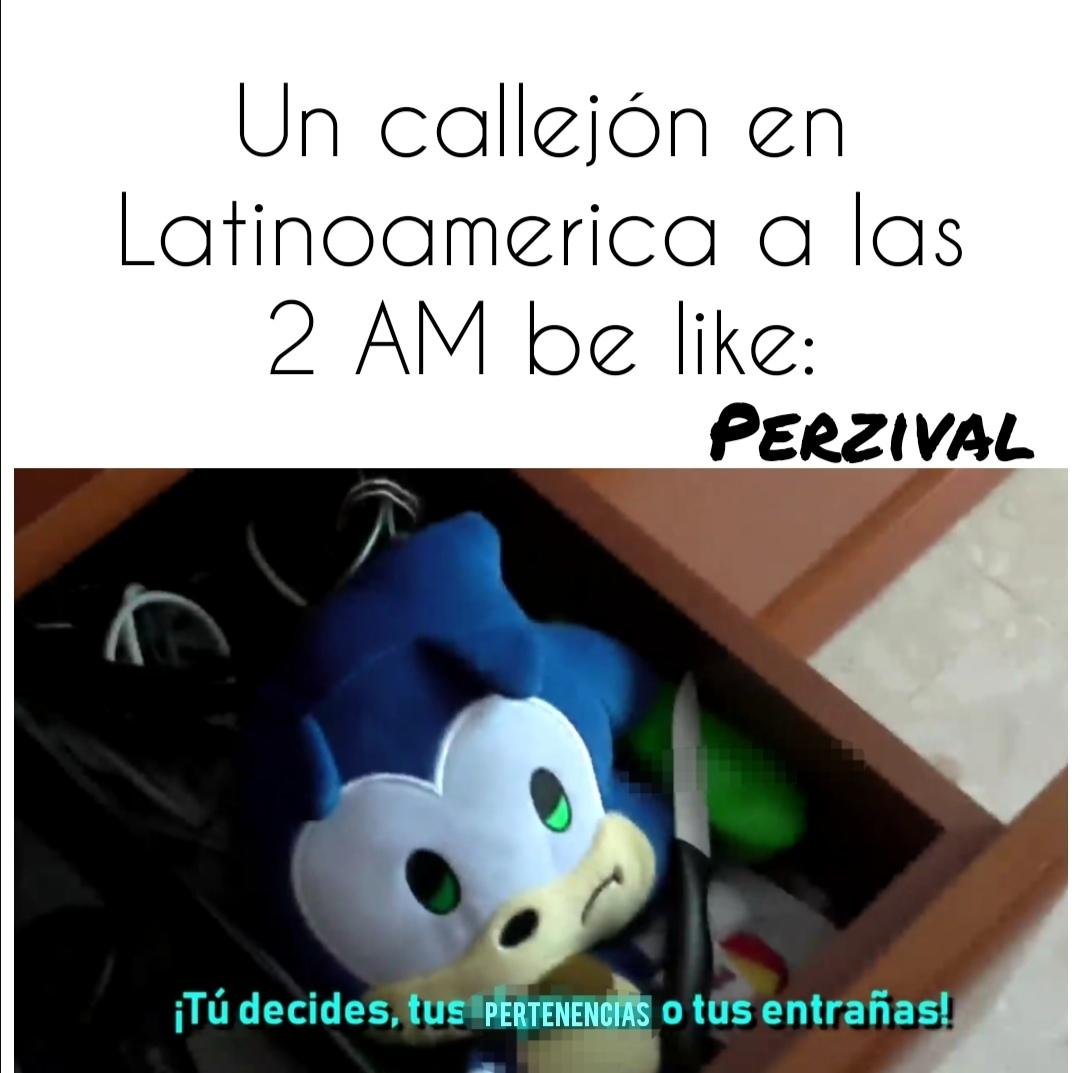 Sonic SAD - meme