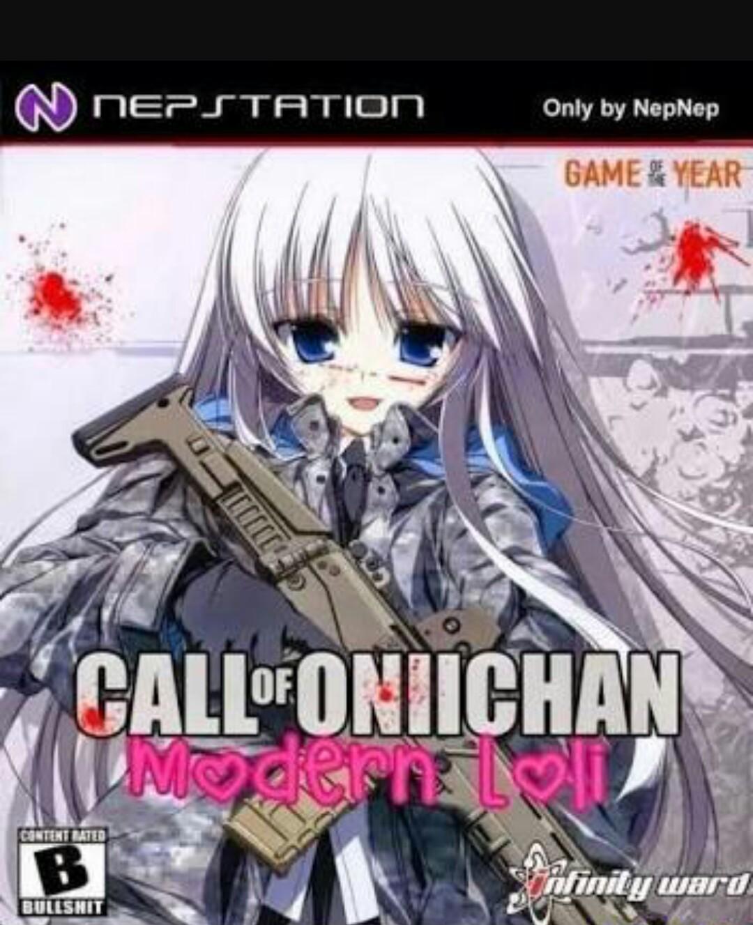 Call Of Senpai - meme